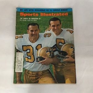 Vintage Sports Illustrated Magazine Aug. 14, 67""